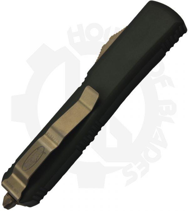 Microtech Ultratech D/E 122-13OD Green knife