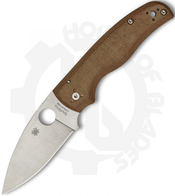 Spyderco Shaman C229MPZW Micarta knife