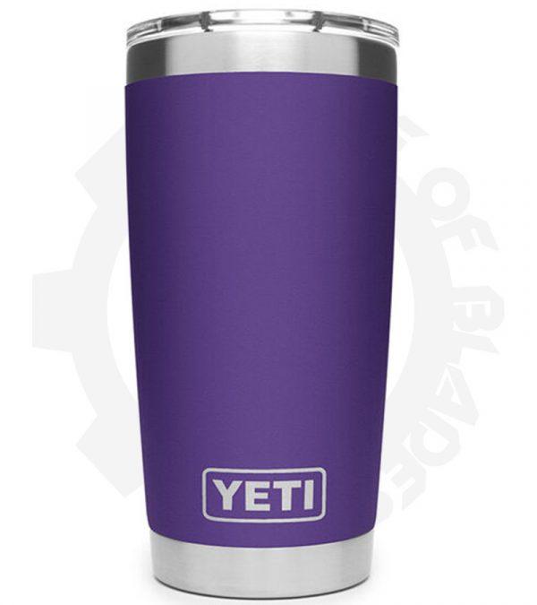 yeti rambler 20 oz purple